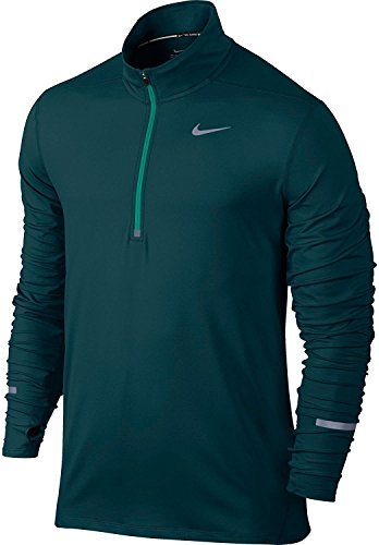 Nike Dry Element Half-Zip Long Sleeve 904946 346 Large (Long Sleeve Half Zip Top)