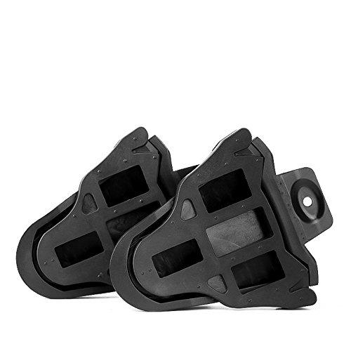 chen gui jin ke ji Co.,Ltd. Bike Cycling Cleat Covers, Quick Release Rubber Cleat Cover for Shimano SPD-SL Pedal Systems (1 Pair) by chen gui jin ke ji Co.,Ltd. (Image #1)
