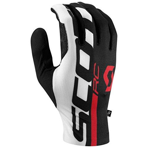 Scott 2017 RC Pro Long Finger Gloves - 250071 (Black/Fiery Red - XL) (Gloves Nylon Scott)
