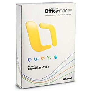 Open Box Microsoft Office 2008 for Mac Special Media Edition Upgrade *Open Box*