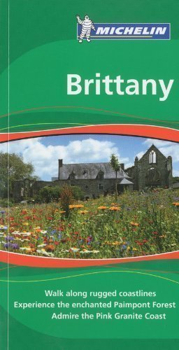 Brittany Tourist Guide (Michelin Green Guides) 1st (first) Edition by Michelin published by Michelin Apa Publications Ltd (2009)