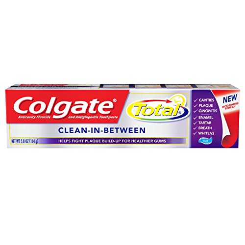 Colgate Total Toothpaste, Clean-in-Between, 5.8 Ounce ()