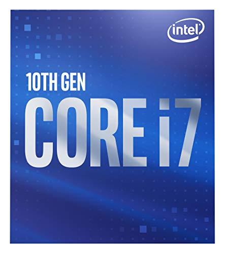 Intel Core i7-10700 (basistakt: 2,90 GHz; sokkel: LGA1200; 65 Watt) Box