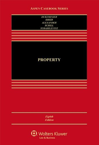 By Jesse Dukeminier Property (8th Edition)