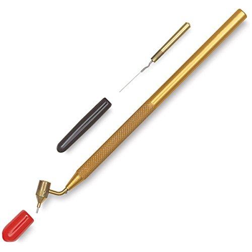 ✅ Kemper Fluid Writer Pen | Bâ ton de retouche pour peinture automobile | Ré parer les rayures et les dommages | Loew Cornell Fine Line Painting Pen
