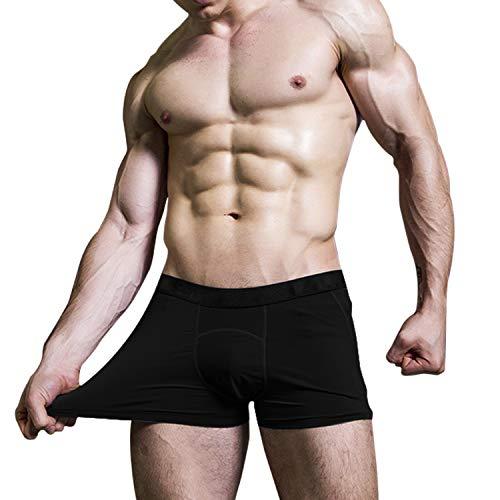 Niksa 3Pcs Men's Athletic Underwear Sport Performance Boxer Briefs Cool Dry