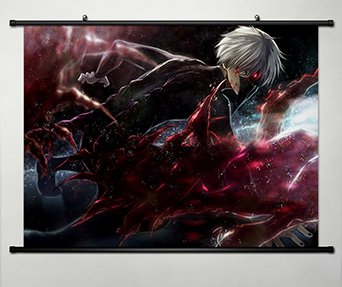 Home Decor Japanese Anime Tokyo Ghoul Kaneki Ken Cosplay 23.6x17.7 Inches -113