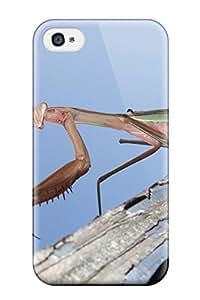 AnthonyJNixon LaGVpvz928jJAKY Protective Case For Iphone 4/4s(praying Mantis Wallpaper)