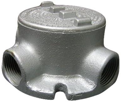 Hazardous Location Aluminum 3//4 Hub Appleton GRFC75-A Flanged Conduit Outlet Box with Cover
