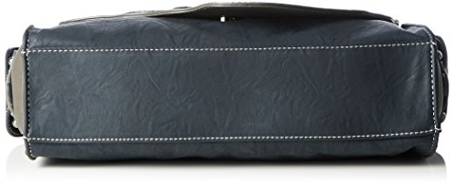 Rieker H1150, Borse a Tracolla Donna, Blu (Baltik/Dust), 80 x 270 x 330 cm (B x H x T)