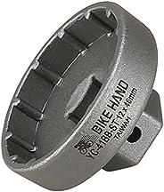 BIKEHAND 12 Notch 46mm External Bottom Bracket Install Remover Tool for SRAM Dub