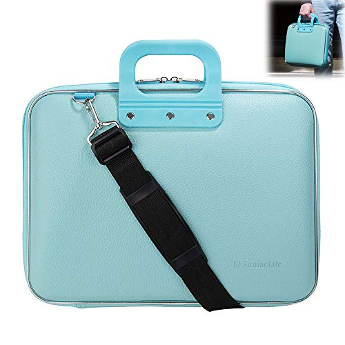 Roxie Womens 13-Inch Laptop Shoulder Briefcase Messenger Bag for Apple | Acer | Asus | Dell | Fujitsu | Lenovo | HP | Samsung | Sony | Toshiba | MSI MacBook Chromebook Ultrabook Surface Book Laptop