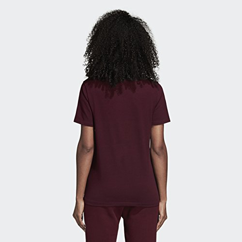 donna shirt rossiccio da marrone Trefoil Adidas Originals 2xs T qgwAC77