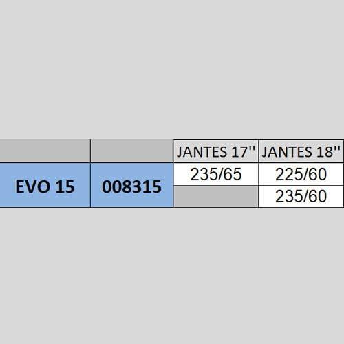 2 MICHELIN 008302 Catene Neve Easy Grip Evolution Gruppo Set di 2