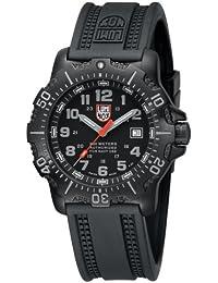 Sea Anu 4200 Black Dial Black Rubber Mens Watch 4221