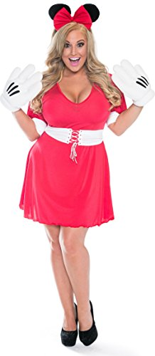 Plus Size Playtime Minnie Mouse Costume (Delicate Illusions) - Funtober