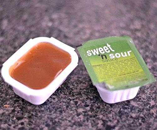 Amazon Com 25 Mcdonald S Sweet And Sour Sauce Packets Grocery Gourmet Food