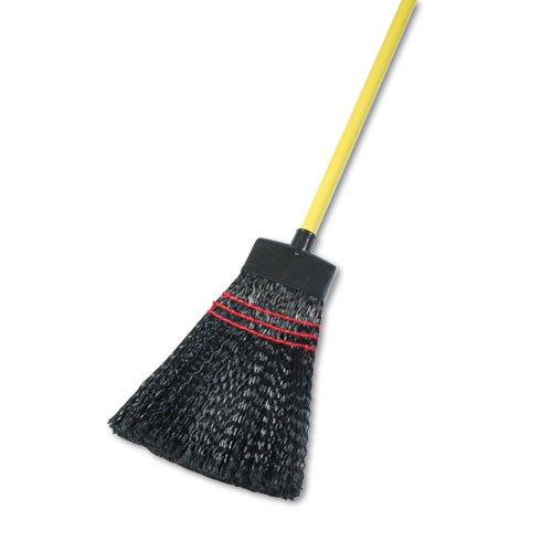 UNISAN Maid Broom, Plastic Bristles, Wood Handle, 42'' Long - 12 brooms. by Unisan