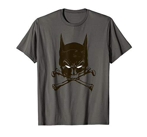 Batman Bat and Bones T Shirt