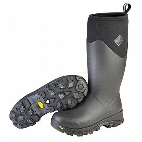 - Muck Arctic Ice Extreme Conditions Tall Rubber Men's Winter Boots with Arctic Grip Outsole