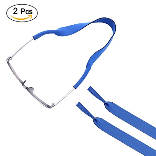Ewinever 2-Pack Adjustable Kids Neoprene Eyewear Retainer,Child Sunglass & Sunglasses Holder Strap Cord for Childrens Eyeglasses - Kids Eyeglasses Accessories