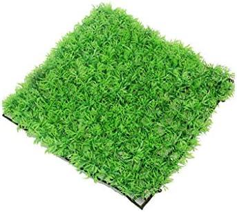 PING- 1ピースグリーン人工芝クリエイティブマイクロランドスケープフェイク芝生シミュレーションミニチュアガーデンオーナメント水族館の装飾