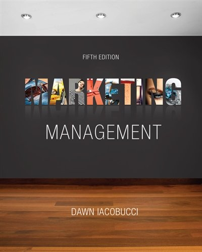 The 4 best marketing management iacobucci 5th edition