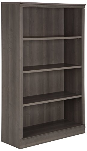 South Shore Morgan 4-Shelf Bookcase, Gray Maple ()