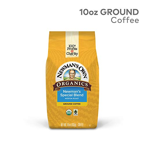 Newman's Own Organics Decaf Special Blend Wp, Ground, 10 Ounce Bag
