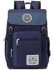 MATMO Multi-Function School Backpack Nylon Waterproof Student Book Bag