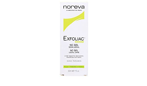 Amazon.com : Noreva Exfoliac Nc Gel Local Care 30ml : Pore Cleansers : Beauty
