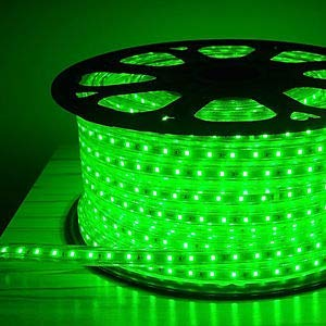 best sneakers aed2a 79c98 JS ULTRA SYSTEM Silicon LED Strip Rope Light SMD Roll Super Thin 3014  (Green, 5 m)