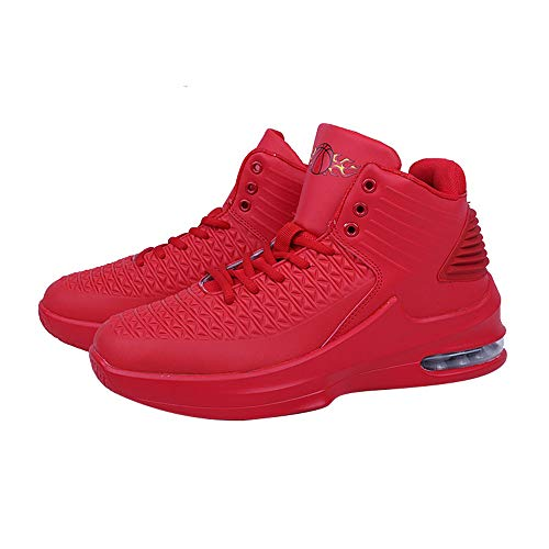 Air Chaussures De Mode Rouge Rosegal Chaussure Homme Fitness Baskets Sport Basket Basket ball Montantes Course Gym 60wUTnfO