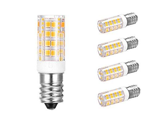 E14 bombillas LED 5 W 5 380 lm, 3000 K blanco cálido LED Bombilla E14 incluida en lugar de 60 W Incandescente: Amazon.es: Iluminación