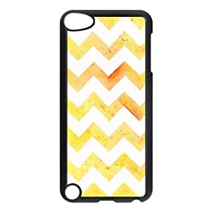 Fashion Protection Chevron Stripes Pattern Design Hard Cover Case For iPod Touch 5th Generation