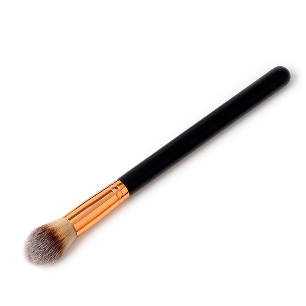Pena Face Blooming Carving Tips Wood Handle Soft Hair Tapered Blending Makeup Brush(191)