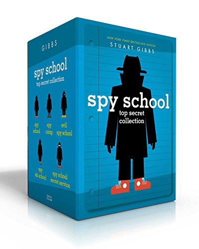 Spy School Top Secret Collection: Spy School; Spy Camp; Evil Spy School; Spy Ski School; Spy School Secret Service