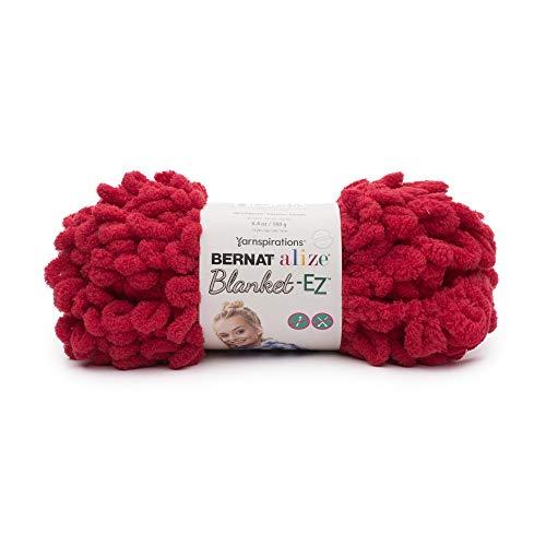 Bernat 16103737009 Alize Blanket-EZ Yarn, Bright - Bernat Red Knitting Yarn