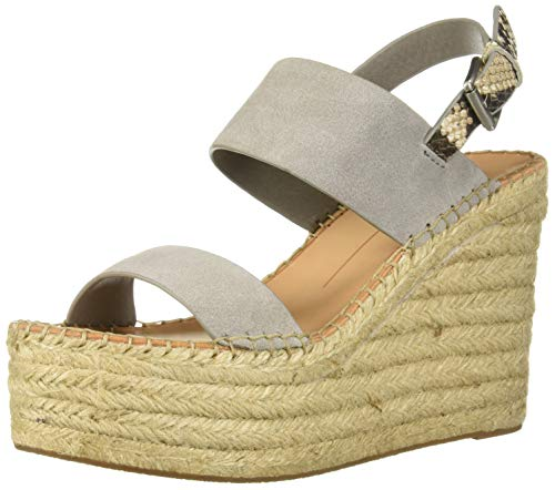 - Dolce Vita Women's Spiro Wedge Sandal, Smoke Suede, 8 M US