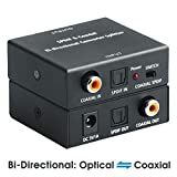Optical to Coaxial OR Coax to Optical Digital Audio Converter