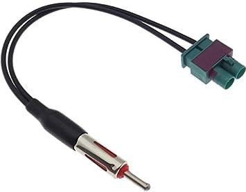Adaptador de antena DIN doble FAKRA divisor adaptador cable ...