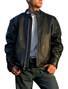 Interstate Leather Men's Basic Touring Jacket (X-Large)