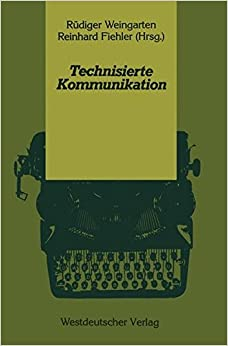 Book Technisierte Kommunikation (Psycholinguistische Studien) (German Edition)