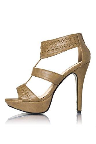 Atixo - Zapatos de vestir para mujer multicolor 40