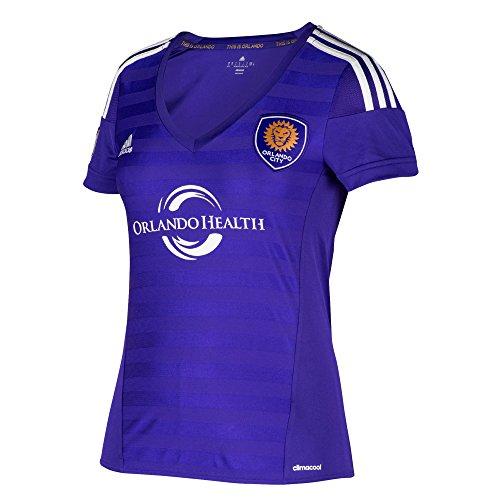 MLS Orlando City SC Women's Replica Short Sleeve Team Jersey, Regal Purple, X-Large