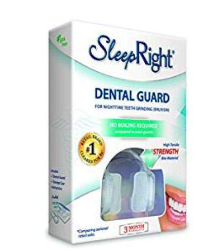 SleepRight Select No-Boil Dental Guard - Sleeping Teeth Guard - Mouth Guard To Prevent Teeth Grinding