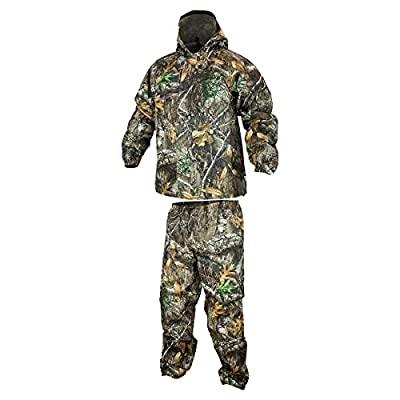 COMPASS 360 SportTek Waterproof Breathable Camo Suit