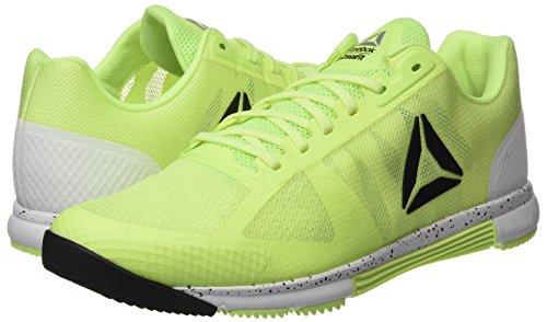 Blanc Chaussures Hommes R Jaune Noir flash Reebok De 0 Crossfit Electrique Argent Speed tr Gymnastique 2 4OH0ddwq