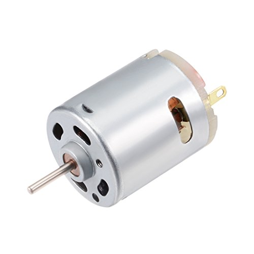 uxcell Micro Motor DC 12V 11200RPM High Speed Motor for DIY Hobby Toy Cars Remote Control