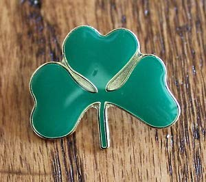 (Pin for Hats - New Shamrock Clover Lapel Hat Pin Animal Tie Tack St. Patrick's Day Ireland Luck - Decoration for Clothes)